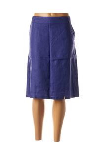 Jupe mi-longue femme Thalassa violet taille : 46 34 FR (FR)