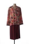 Robe mi-longue femme Regine rouge taille : 42 60 FR (FR)