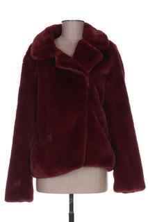 Veste casual femme Mon Beau Vetement rouge taille : 38 43 FR (FR)