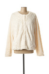 Manteau court femme Julie Guerlande blanc taille : 48 52 FR (FR)