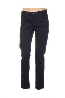 Pantalon casual femme Mensi Collezione bleu taille : 46 27 FR (FR)