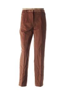 Pantalon casual homme Bruno Saint Hilaire marron taille : 48 70 FR (FR)