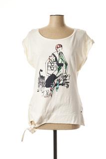 T-shirt manches courtes femme Cks beige taille : 40 18 FR (FR)