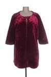 Manteau long femme Mat. rouge taille : 48 45 FR (FR)