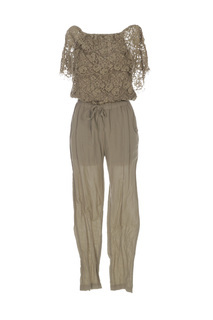 Combi-pantalon femme Valerie Khalfon vert taille : 36 34 FR (FR)