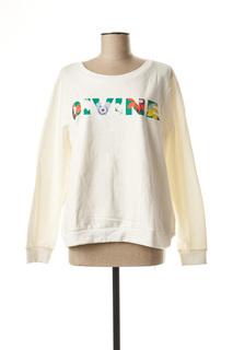 Sweat-shirt femme Vila blanc taille : 42 22 FR (FR)