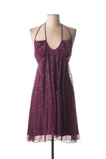Robe courte femme Galliano violet taille : 36 129 FR (FR)