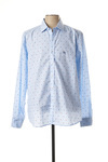 Chemise manches longues homme Old Taylor bleu taille : XXL 28 FR (FR)