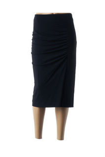 Jupe mi-longue femme Marina Rinaldi noir taille : 54 90 FR (FR)