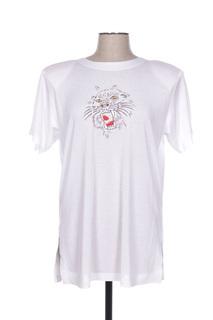 T-shirt manches courtes femme Bugarri blanc taille : 42 11 FR (FR)