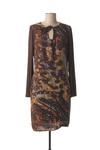 Robe mi-longue femme Voodoo marron taille : 42 49 FR (FR)