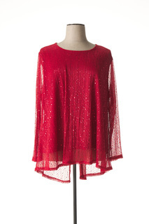 T-shirt manches longues femme Veti Style rouge taille : 56 19 FR (FR)