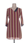 Robe mi-longue femme Anna Mur rouge taille : 46 26 FR (FR)