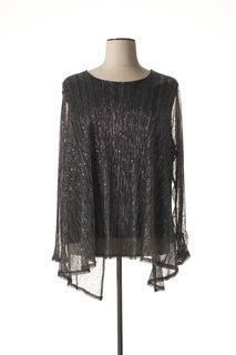 T-shirt manches longues femme Veti Style noir taille : 54 19 FR (FR)