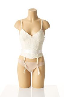 Bustier femme Lise Charmel beige taille : 38 45 FR (FR)