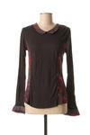 T-shirt manches longues femme Jac Jac noir taille : 52 26 FR (FR)
