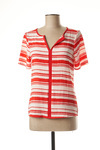 T-shirt manches courtes femme Akoz rouge taille : 38 9 FR (FR)
