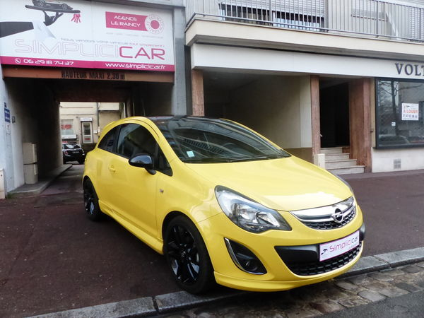 voiture opel corsa 1 4 100 ch twinport color edition occasion essence 2014 24600 km. Black Bedroom Furniture Sets. Home Design Ideas
