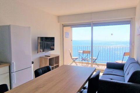 appartement 4 personnes Télévision - Balcon - Lave linge - Table et chaises de jardin . . . Languedoc-Roussillon, Banyuls-sur-Mer (66650)