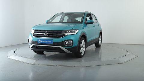 Volkswagen T-Cross 1.0 TSI 110 DSG7 Lounge +LED Surequipé 2021 occasion Décines-Charpieu 69150