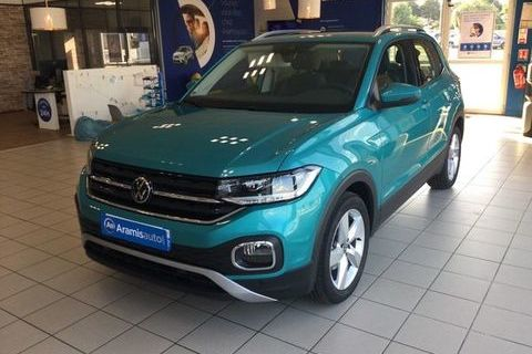 Volkswagen T-Cross 1.0 TSI 110 DSG7 Lounge +LED Surequipée 2021 occasion Annecy 74000