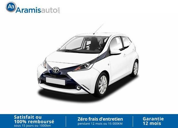voiture toyota aygo 1 0 vvt i x play sur quip occasion essence 2017 10 km 9799 aix. Black Bedroom Furniture Sets. Home Design Ideas