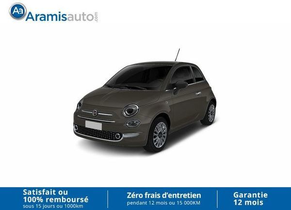 voiture fiat 500 1 2 69 ch lounge occasion essence 2017 10 km 11850 nice alpes. Black Bedroom Furniture Sets. Home Design Ideas