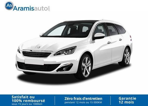 voiture peugeot 308 sw 1 6 hdi 120 allure occasion diesel 2017 10 km 21199 tours. Black Bedroom Furniture Sets. Home Design Ideas