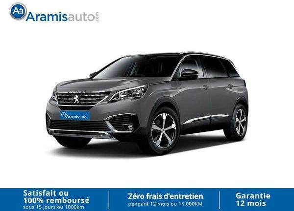 voiture peugeot 5008 1 6 bhdi 120 auto active occasion diesel 2017 10 km 30077. Black Bedroom Furniture Sets. Home Design Ideas