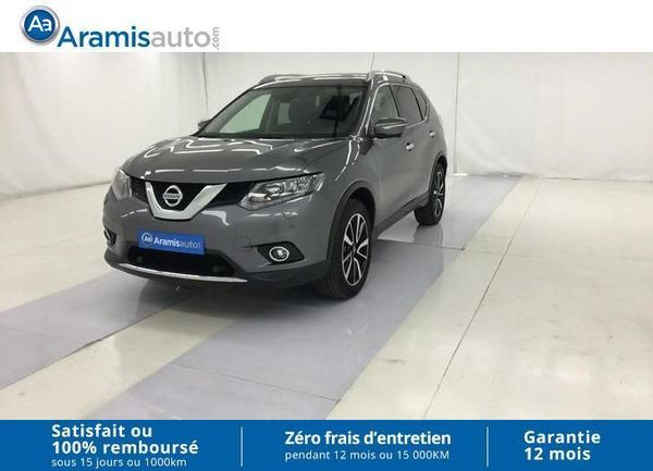 voiture nissan x trail 1 6 dci 130 7pl all mode 4x4 i n connecta occasion diesel 2016. Black Bedroom Furniture Sets. Home Design Ideas