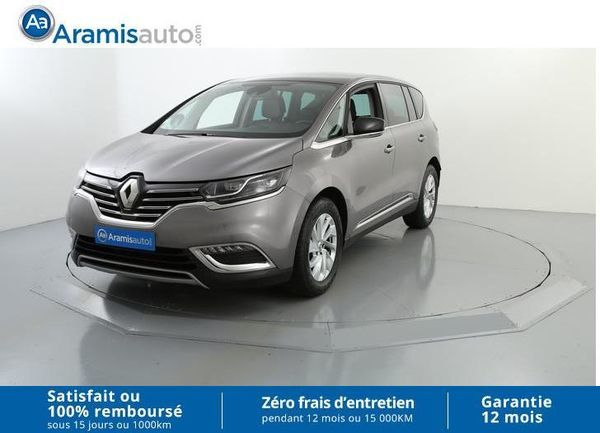 voiture renault espace dci 160 edc zen 7 places surequip occasion diesel 2016 24320 km. Black Bedroom Furniture Sets. Home Design Ideas