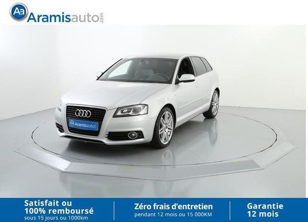 voiture audi a3 2 0 tdi 140 s line occasion diesel 2011 36099 km 16990 seclin nord. Black Bedroom Furniture Sets. Home Design Ideas
