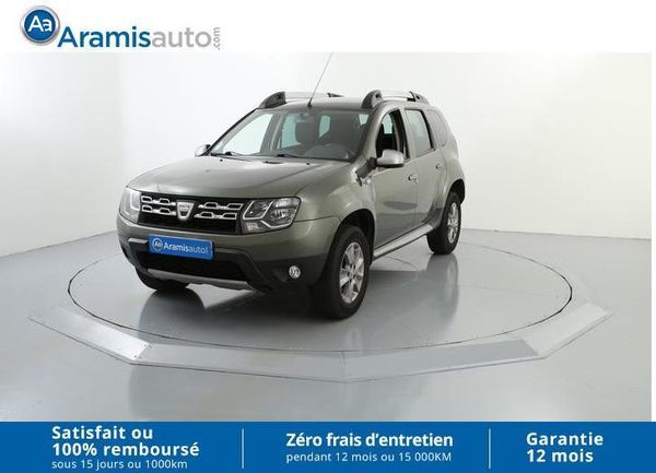 voiture dacia duster 1 5 dci 110 4x2 prestige occasion diesel 2014 40622 km 14290. Black Bedroom Furniture Sets. Home Design Ideas