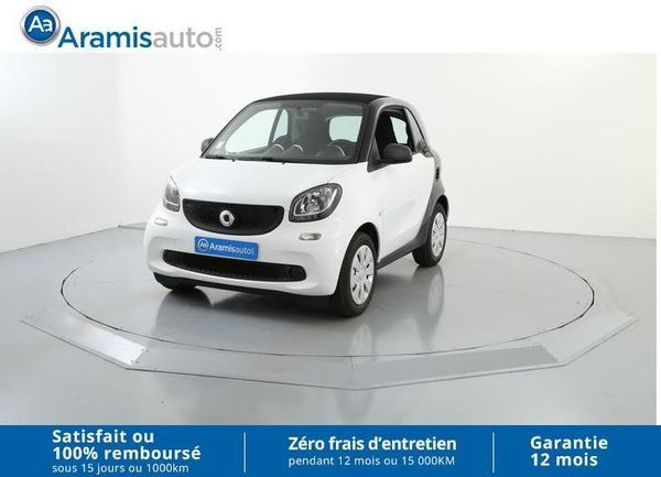 voiture smart fortwo 1 0 61 ch pure occasion essence 2017 728 km 10590 aix en. Black Bedroom Furniture Sets. Home Design Ideas