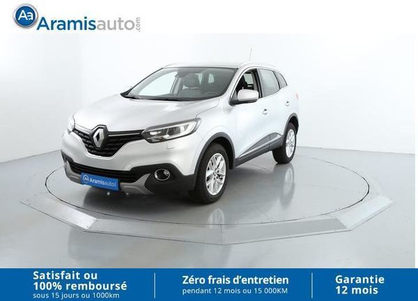 voiture renault kadjar dci 130 energy 4wd zen sur quip occasion diesel 2016 18415 km. Black Bedroom Furniture Sets. Home Design Ideas