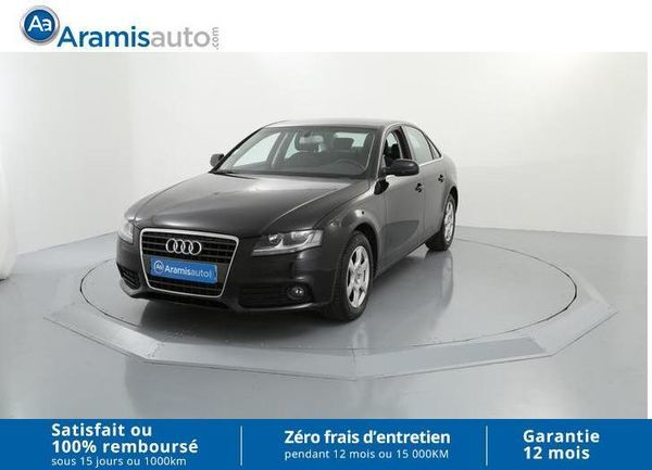 voiture audi a4 2 0 tdi 143 ambiente gps occasion diesel 2011 93231 km 15990. Black Bedroom Furniture Sets. Home Design Ideas