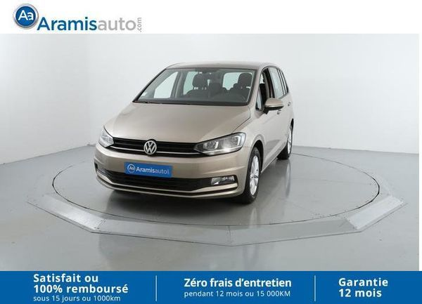 voiture volkswagen touran 1 6 tdi 110 trendline 7pl surequip occasion diesel 2016 11200. Black Bedroom Furniture Sets. Home Design Ideas