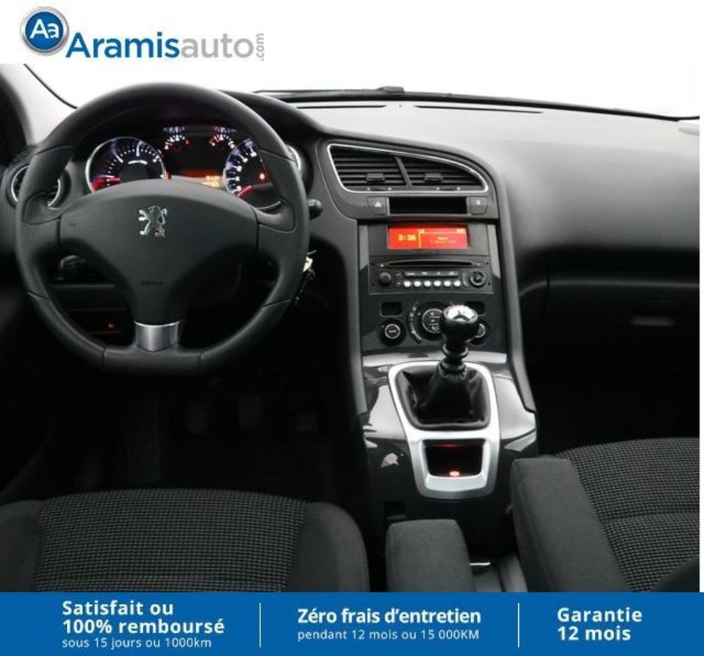 aramisauto aix en provence peugeot 5008 1 6 hdi 112 bvm6 style 7pl aix en provence 13100. Black Bedroom Furniture Sets. Home Design Ideas