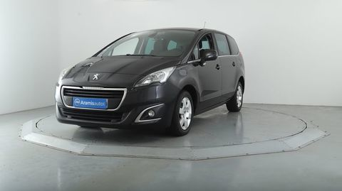 Peugeot 5008 1.6 BlueHDi 120 EAT6 Active + GPS 2016 occasion Nice 06200