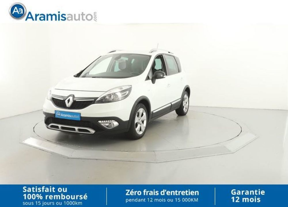 voiture renault scenic xmod 1 5 dci 110 bvm6 bose edition occasion diesel 2013 41221 km. Black Bedroom Furniture Sets. Home Design Ideas