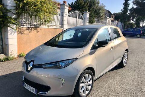 Renault Zoé Intens charge rapide 2015 occasion Martigues 13500