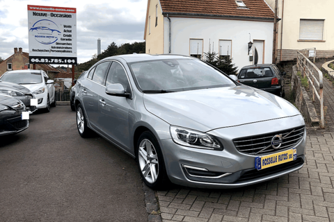 Volvo S60 2.0 T4 190CH MOMENTUM 1ER M 2016 occasion Petite-Rosselle 57540