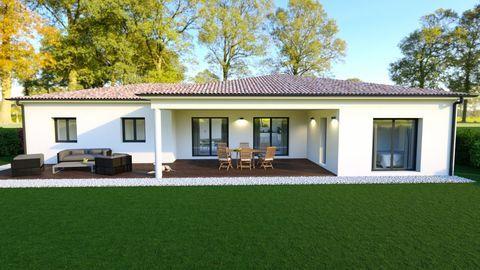 projet maison 96m² MERCUER 312500 Mercuer (07200)