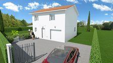 MAISON 96M² avec 15m² de garage sur 673m² de terrain 354400 Chuzelles (38200)