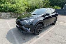 Toyota RAV 4 197 Hybride Black Edition 2WD CVT 2018 occasion Béthune 62400