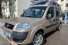 Doblo 1.3 Multijet 16v 85 Emotion equipé fauteuil roulant ANDICAP 2009 occasion 06200 Nice