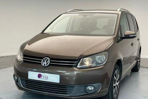 Volkswagen Touran 1.6 16V TDI CR FAP - 105 Confortline PHASE 3 2011 occasion Villeneuve-d'Ascq 59650