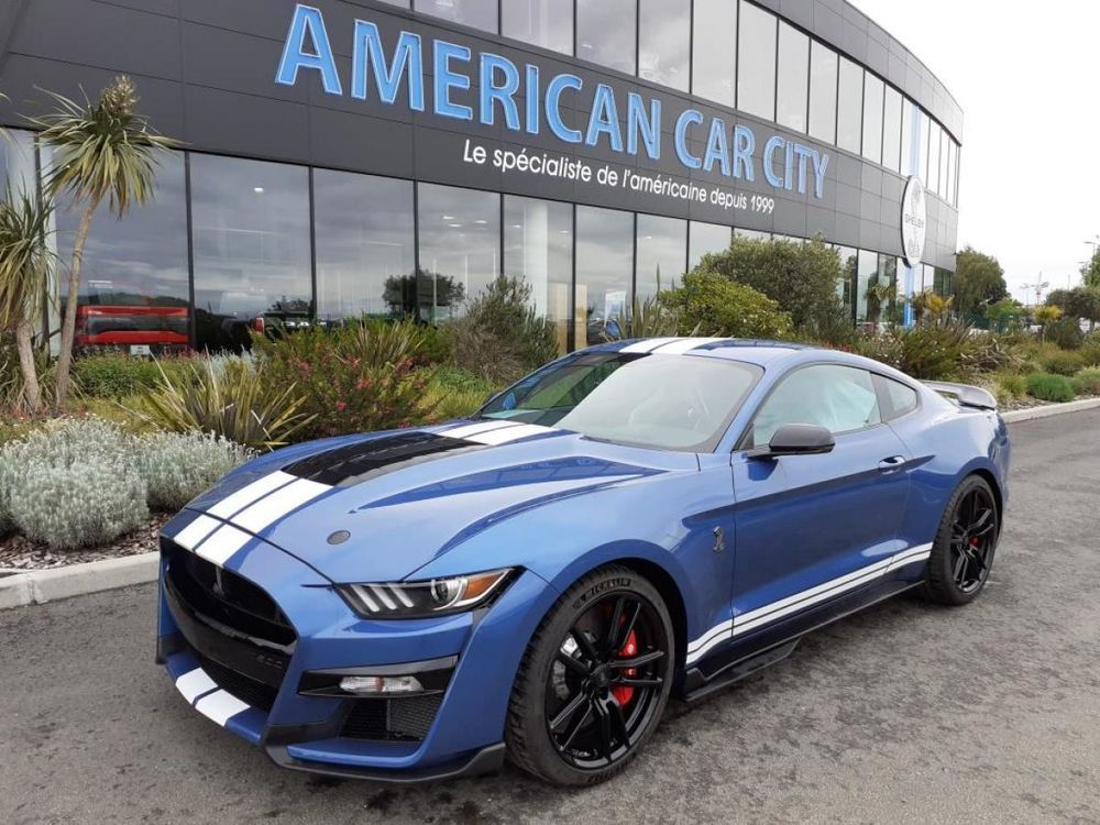 Mustang Shelby GT500 V8 5.2L 2020 2020 occasion 91830 Le Coudray-Montceaux