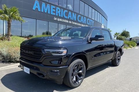 Dodge RAM 1500 CREW LIMITED NIGHT EDITION BOX 2021 2020 occasion Le Coudray-Montceaux 91830