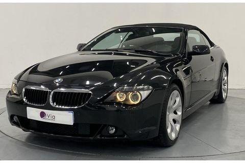 BMW SERIE 6 630i Cabriolet Pack Luxe E64 Essence 24990 59650 Villeneuve-d'Ascq